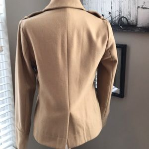 Forever 21 Jackets & Coats - Forever 21, love21, lined tan pea coat!!